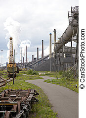 heavy steel industry