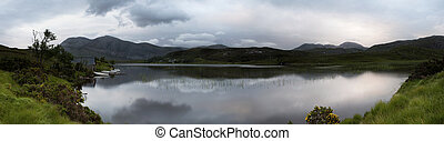 Stack Boat house - The Boat House On The Side Of Loch Stack...
