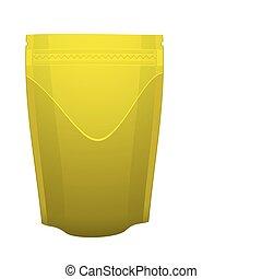 Gold foil food pouch