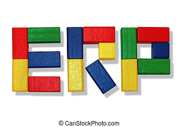 ERP Software - Enterprise Resource Planning with wooden toys...