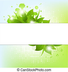 Abstract Background With Blots
