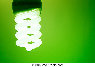 Compact fluorescent light bulb - An energy saving compact...