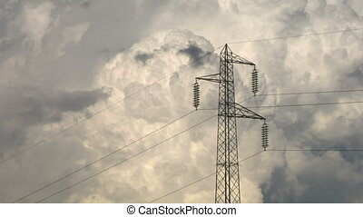 pylon 03 - High voltage power line