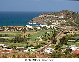 Scenic view of St. Kitts