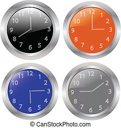 Clocks collection-vector