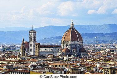 Il Duomo in Florence - The Basilica Di Santa Maria del...