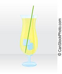 lemonade juice vector