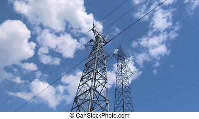 pylon 05 - High voltage power line