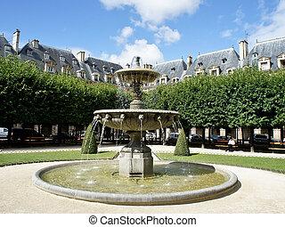 Place des Vosges, the most beautiful square in Paris