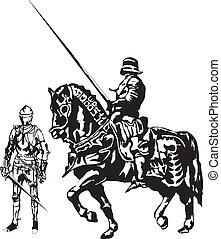 Knight - Mounted knight