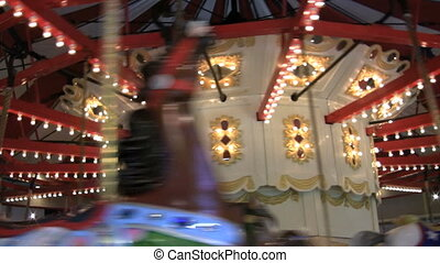 Old Style Merry Go Round - A one hundred year old carousel...