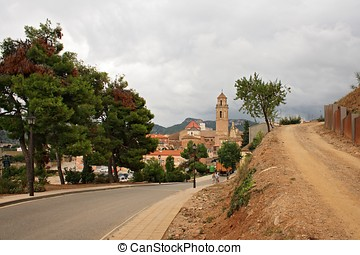 Falset view (small town in Catalonia, Spain)