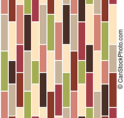 Seamless with vertical bricks in green and pink colors