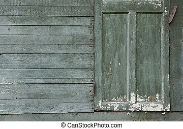 Background of old  wall with door