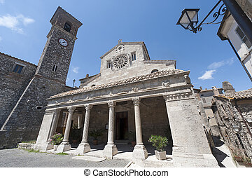 Lugnano in Teverina (Terni, Umbria, Italy) - Old church -...