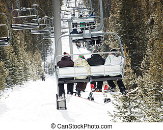 Ski Lift - Ski lift in Keystone, Colorado.