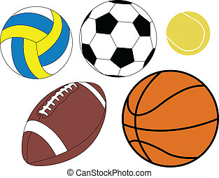Collection of ball
