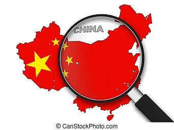 Magnifying Glass - China - Magnifying Glass with the China...