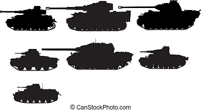 tanks - set of tanks