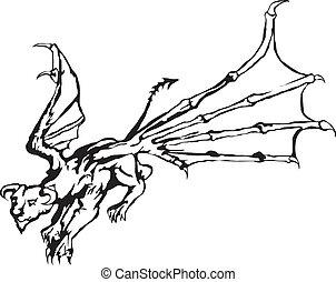 Dragon - tattoo dragon