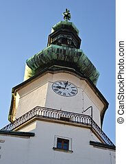 Michalska Brana Church Dome - Dome detail of the church...