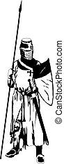 knight - teuton knight