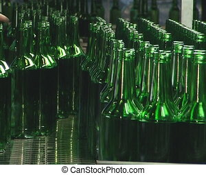 Human intervention is necessary in bottle production too....