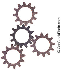 Cog Wheel Gear Background - Cog Wheel Gear Rounds Metal...