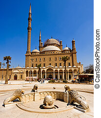 Mosque of Mohamed Ali, Cairo - Mosque of Mohamed Ali, in...