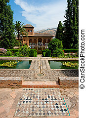 Alhambra of Granada - The Alhambra, most famous arab citadel...