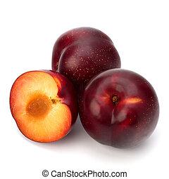 Red plum fruit