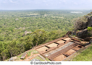 Sigiriya, Cultural Triangle, Sri Lanka - Part of the ruins...