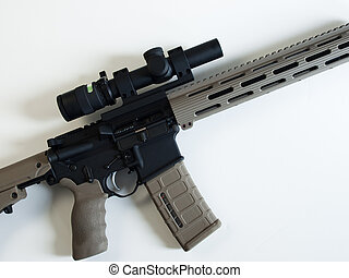 AR-15 Assault Rifle - Standard US Army AR-15 Assault rifle...