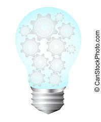 bulb electric - blue and silver bulb electric with gray...