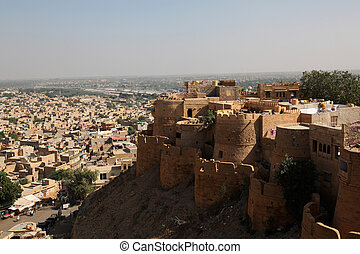 Jaisalmer Fort India - the Jaisalmer Fort in Rajathan, India