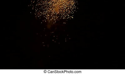 Beautiful celebratory fireworks - Very beautiful and...