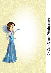 Fairy - Copy Space