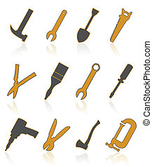 Icons of tools