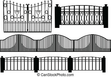 Gate 2 illustration - vector