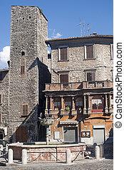 Narni (Terni, Umbria, Italy) - Old buildings