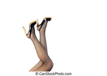 My elegant legs - Photo of the elegant woman legs in...