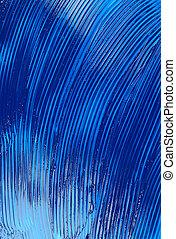 blue oil paint texture