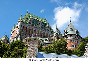 Chateau Frontenac from Old Quebec City - Chateau Frontenac...