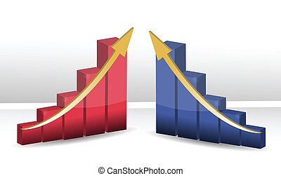 successful business graphs