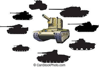 Set of tanks - set of tanks