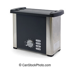 Ultrasonic cleaner - device to clean jewellery, lenses,...