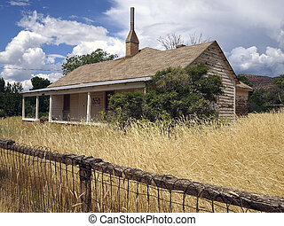 Farmhouse for Sale - An old farmhouse in a rural valley with...