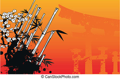 japan bamboo background10