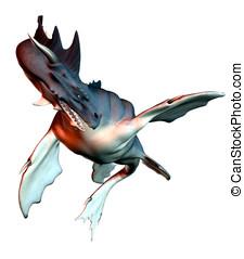 Sea Dragon - Fantasy Storybook Sea Dragon in action....