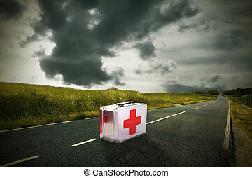 medicine cabinet on the road